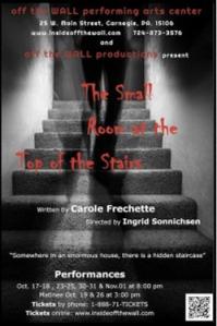 La Petite pièce en haut de l'escalier. Off the Wall Performing arts centre. Pittsburgh.