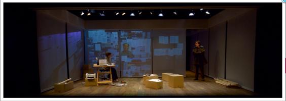 Je pense à Yu, Sala Beckett, Barcelone. Version catalane Elisabet Rafols. Mise en scène Imma Coloner.