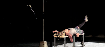 La Peau d'Élisa. Compagnie En roue Libre. Mise en scène Philippe Altier.